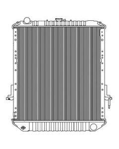 Isuzu All Aluminum Radiator