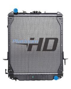 Isuzu Plastic / Aluminum Radiator