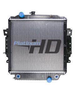Freightliner Plastic / Aluminum Radiator (With Framework)