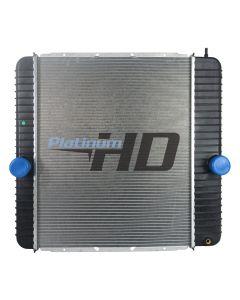 International Plastic / Aluminum Radiator (Oil Cooler on Grill Side)