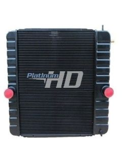 International Copper / Brass Radiator (3 Row High Efficiency Core) (Oil Cooler on Grill Side)