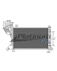 Dodge Plastic / Aluminum Radiator