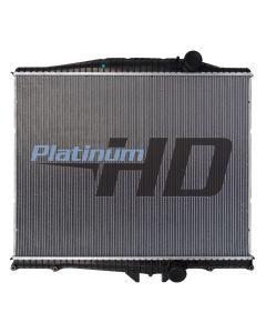 Mack-Volvo Plastic / Aluminum Radiator (Without Oil Cooler)