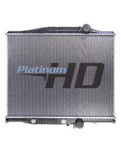 Mack-Volvo Plastic / Aluminum Radiator (With Oil Cooler)