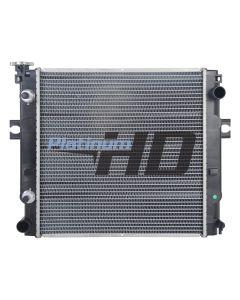 Caterpillar- Mitsubishi Forklift Plastic / Aluminum Radiator (Square Fin)
