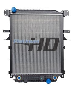 Thomas Bus Plastic / Aluminum Radiator (With Framework) (Premium)