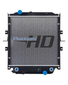 Bluebird Bus Plastic / Aluminum Radiator (Premium) (With Framework)