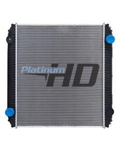 Thomas Bus Plastic / Aluminum Radiator (Premium)