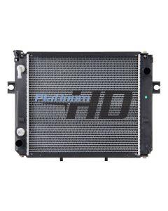 Hyster Forklift Plastic / Aluminum Radiator (Square Fin Core)