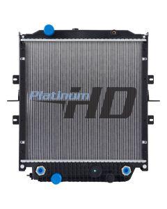 Bluebird Bus Plastic / Aluminum Radiator (With Framework) (Premium)