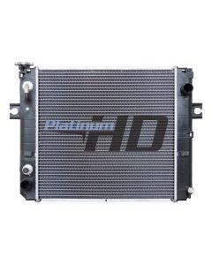 TCM Forklift Plastic / Aluminum Radiator