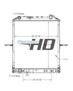 Isuzu / GMC Plastic / Aluminum Radiator (With Framework)