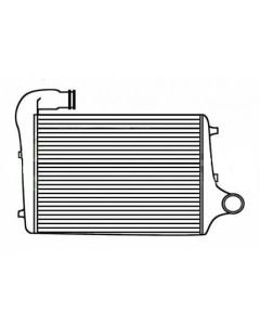 Volvo Tube and Fin Charge Air Cooler