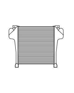 Chevrolet-GMC Tube and Fin Charge Air Cooler