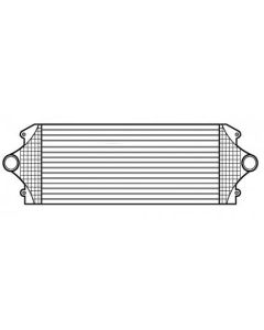 Chevrolet-GMC Tube and Fin Charge Air Cooler (Premium)