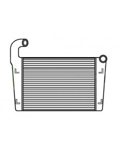 Freightliner-Oshkosh Tube and Fin Charge Air Cooler