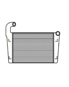 Freightliner-Oshkosh Bar and Plate Charge Air Cooler